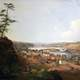 Painting of Oregon City around 1850s
