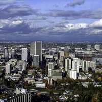 Cityscape and skyline of Portland, Oregon
