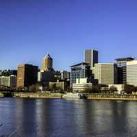 Skyline of Portland, Oregon