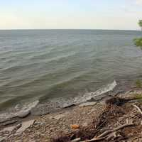Lake Erie Shore at Eerie Bluffs State Park, Pennsylvania