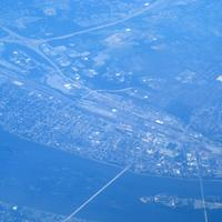 Aerial View of Harrisburg, Pennsylvania