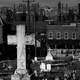 Graveyard with Bethlehem Steel in background, 1935 in Pennsylvania