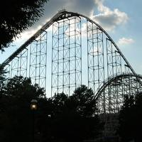 Large Rollercoaster in Allentown, Pennsylvania