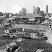 The Allentown Rolling Mill Company, photographed in 1889 in Pennsylvania