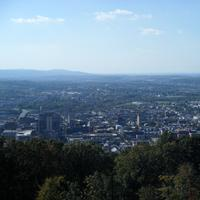 View of Reading from the top of the hill in Pennsylvania
