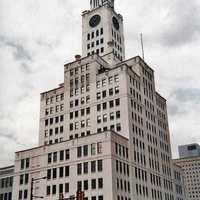 Inquirer Building on North Broad Street in Philadelphia, Pennsylvania