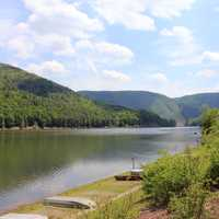 Lakeside View at Sinnemahoning State Park, Pennsylvania