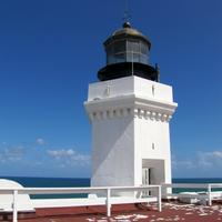 Lighthouse in the daytime in Puerto Rico