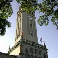 Main tower of the University of Puerto Rico in San Juan