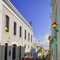 Streets of old San Juan, Puerto Rico