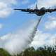 C-130 Hercules aircraft dropping Water in South Carolina