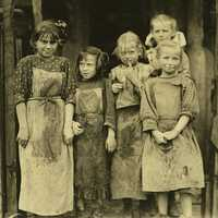 Children in Port Royal, South Carolina in 1912
