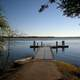 Docks and lake in Bluffton, South Carolina