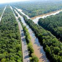 Aerial Photos of flooding caused by Hurricane Florence