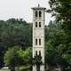 Furman University bell tower near Greenville, South Carolina