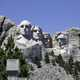 Four faces of Mount Rushmore