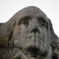 Washington's Face in the Black Hills, South Dakota