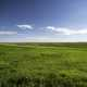 Grassland landscape on the great plains