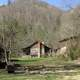 Cabin and Landscape in  Big South Fork, Tennessee