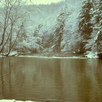 Winter at Big South Fork in Tennessee