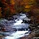 Cascading Rapids landscape in Great Smoky Mountains National Park, Tennessee