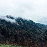 Clouds over Great Smoky Mountains National Park, Tennessee