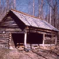 Log Cabin in Great Smoky Mountains National Park, Tennessee