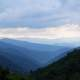 Mountains and Hills Landscape at Great Smoky Mountains National Park, Tennessee