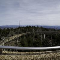 The Winding Trail to the top of the tower at Great Smoky Mountains National Park, Tennessee
