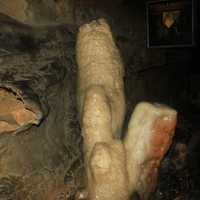 Stalagmite at Lookout Mountain, Tennessee