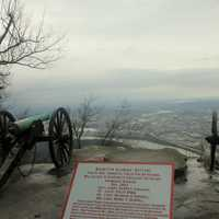 Artillery Battery at Lookout Mountain, Tennessee