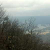 Landscape View at Lookout Mountain, Tennessee