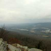 View of the Landscape at Lookout Mountain, Tennessee