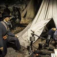 Army Camp in the Tennessee Museum