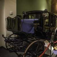 Carriage for travel in Tennessee Museum