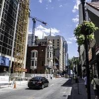 Cars, buildings, and construction  in Nashville