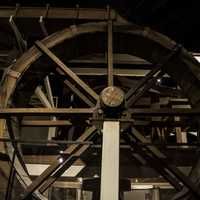 Mill Wheel in Tennessee Museum