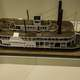 Riverboat display in Tennessee Museum