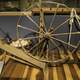 Wooden Spinning Wheel in Tennessee Museum