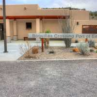 Mexican border customs station at Big Bend National Park, Texas
