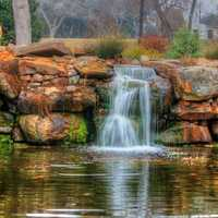 Silky Falls in Dallas, Texas