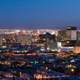 Night Cityscape with lights of El Paso, Texas