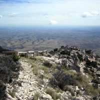 Guadalupe Peak Trail and View