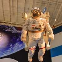 Astronaut Model in Houston, Texas