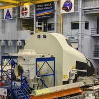 Spaceship Nose Module in Houston, Texas