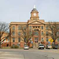 Jones County Courthouse in Anson, Texas