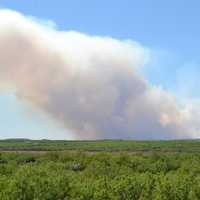 Wildfire and Smoke in Texas