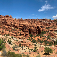 Fiery Furnace Formations in Arches National Park