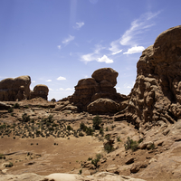 Lumps of Rocks in the Desert