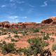 Panoramic view of twin arches area